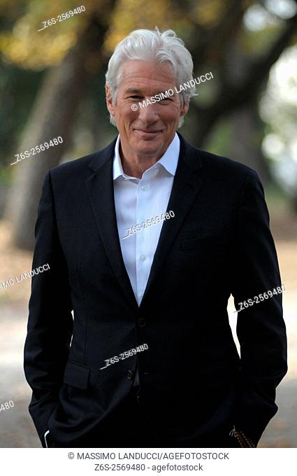 Richard Gere; gere; actor; celebrities; 2015; rome; italy; event; photocall ; franny