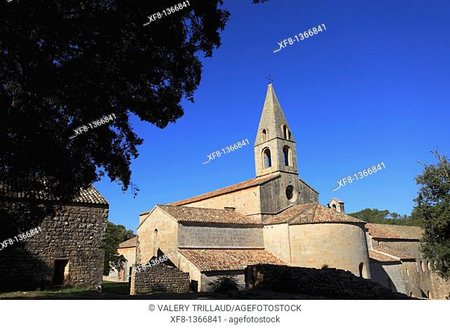 The abbey of Thoronet, Le Thoronet, Var, Provence-Alpes-Côte d'Azur, France