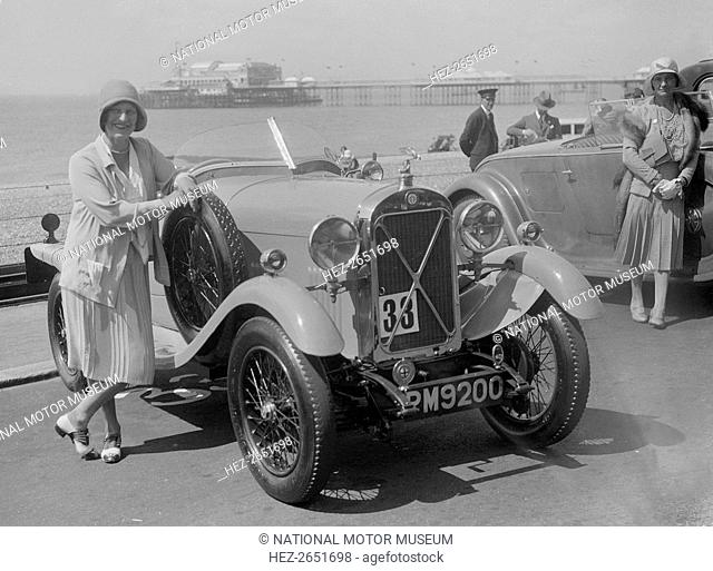 Salmson 1098 cc. Vehicle Reg. No. P?M9200. Event Entry No: 33. Driver: Midgley, Mrs. P.J.M. No. 33 is for Concours delegance competition only