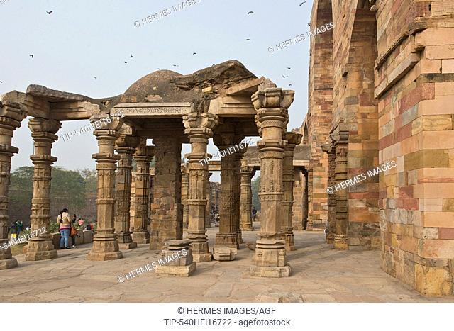 India, New Delhi, Qutub complex