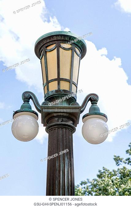 Old Lamppost, Haverford College, Haverford, Pennsylvania, USA