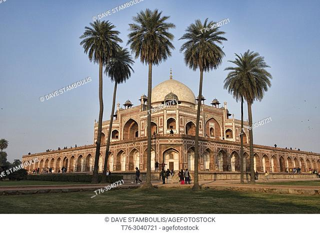 Humayum's Tomb, a UNESCO World Heritage Site, Delhi, India