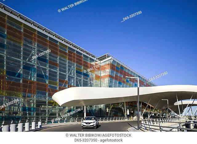 Armenia, Yerevan, Yerevan Zvarnots Airport, EVN, exterior