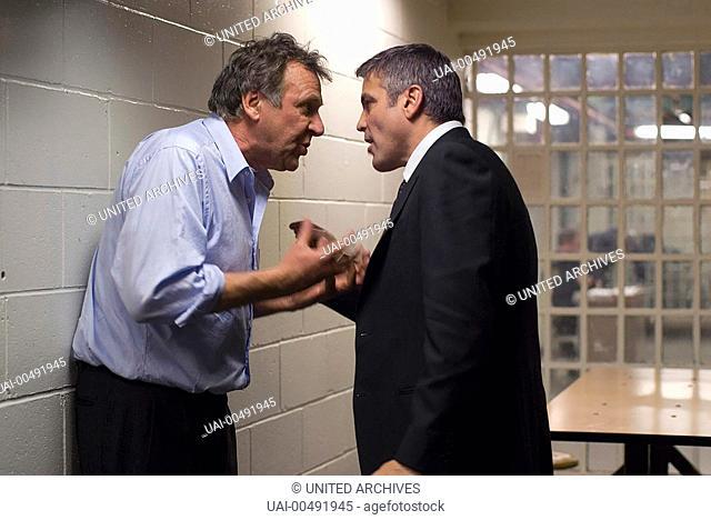 Michael Clayton / Arthur Edens (TOM WILKINSON) and Michael Clayton (GEORGE CLOONEY) Regie: Tony Gilroy aka. Michael Clayton / MICHAEL CLAYTON USA 2007
