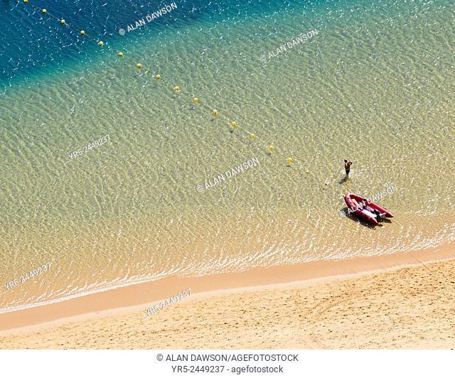 Las Teresitas beach, near Santa Cruz on Tenerife, Canary Islands, Spain