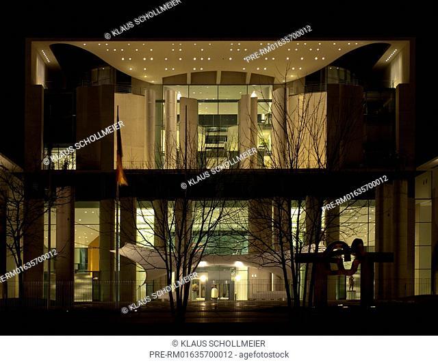 German Chancellery, Bundeskanzleramt, Berlin, Germany / Kanzleramt, Berlin, Deutschland