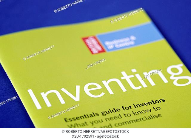 Leaflet about the legal aspects of Inventing