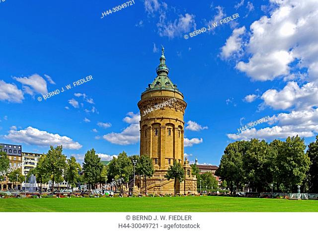 Water tower, Mannheim Germany