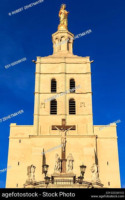 Avignon - Notre Dames des Domes Church near Papal Palace, Proven