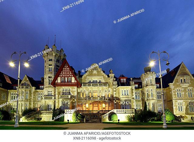 International University Menendez Pelayo, La Magdalena Palace, Santander, Spain, Europe