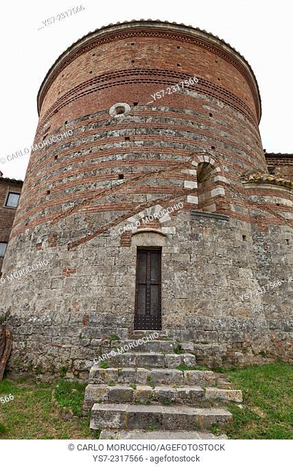 Montesiepi Hermitage, San Galgano Chapel, Chiusdino, Siena, Italy, Europe