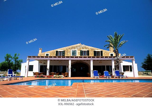 Hotel rural Morvedra Nou  Minorca  Balearic islands  Spain