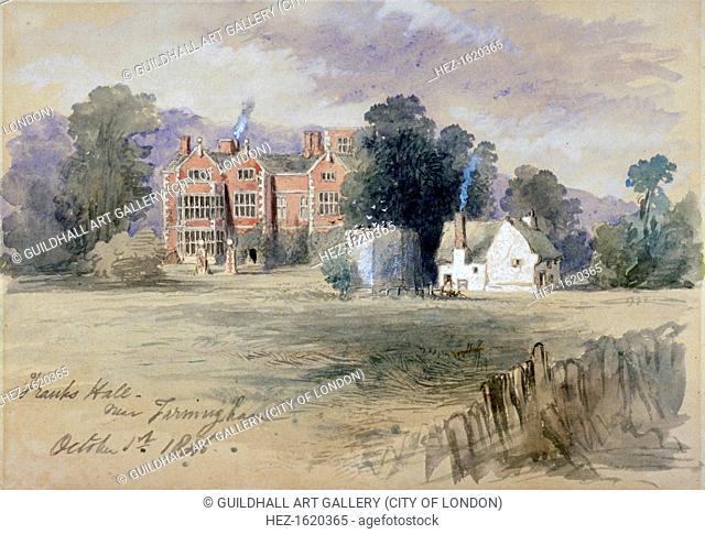 'Frank's Hall near Farningham', 1846