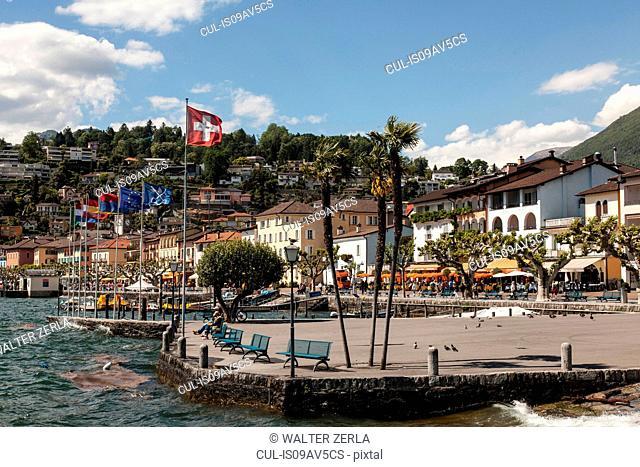 Lake Maggiore, Ascona, Ticino, Switzerland