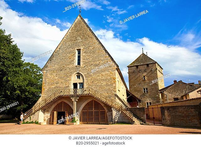 Farinier Tour du Moulin, Cluny Abbey, Cluny, Saone-et-Loire Department, Burgundy Region, Maconnais Area, France, Europe