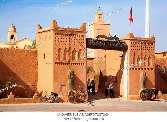Cinema Museum, Ouarzazate, Morocco, Africa