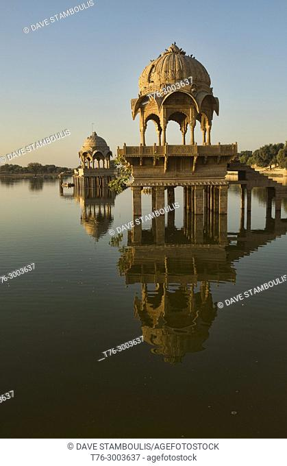 Sunrise at Gadisar Lake, Jaisalmer, Rajasthan, India
