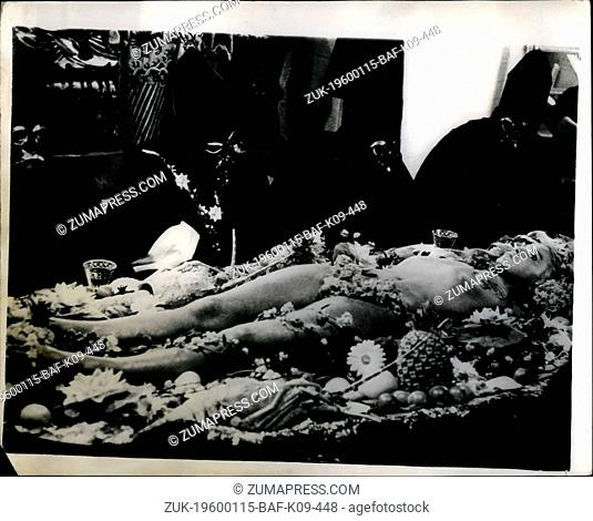1966 - 'Oh - What A Tasty Dish'.!: Lovely - seductive -and really 'eatable' Sophie Daumier - dark eyed French movie star - is being cooked and served on a...