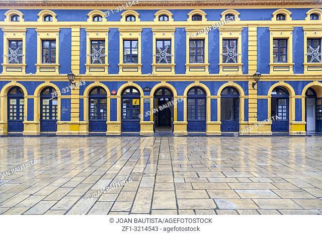 Classic building, edificio de la Canilla. Portugalete,Basque Country,Spain