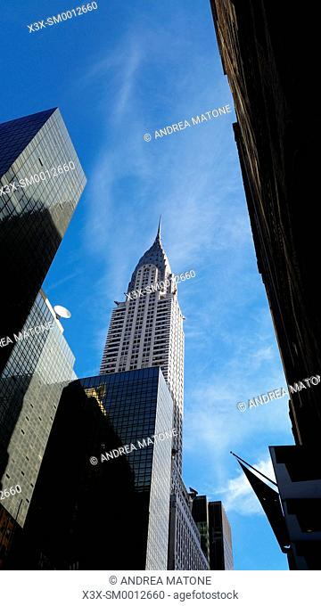 The Empire state building. Manhattan. New York city. USA