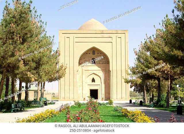 Picture of the Castle prison Abbasid Caliph Harun Al Rashid in the Iranian city of Mashhad, its Brown Castle Used for torturing prisoners