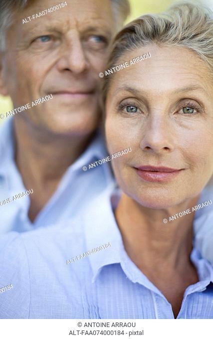 Mature couple, portrait