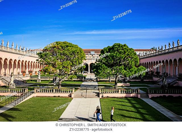Ca d' Zan Venetian Palace in Sarasota FL. Home of John and Mable Ringling