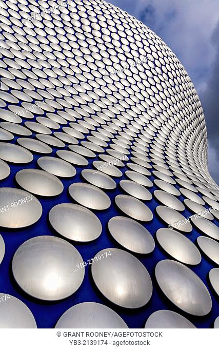 The Exterior of Selfridges Department Store, Birmingham, England