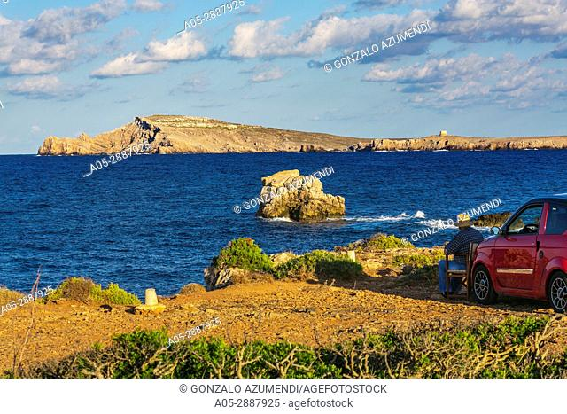 Cavalleria Cape, next to Fornells. Es Mercadal Municipality. Minorca Island. Balearic Islands. Spain