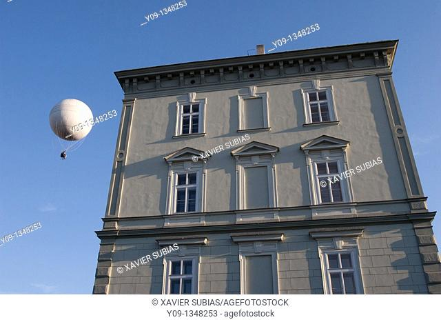 Balloon and House, Prague, Czech Republic