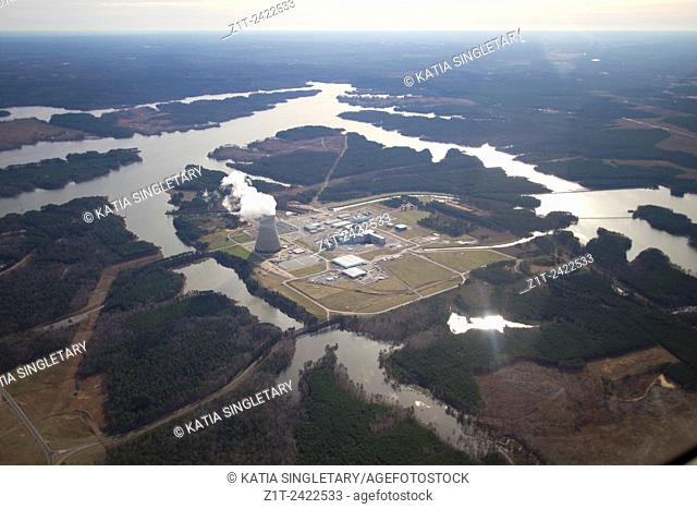 Aerial photography from a private plane. Flying from Raleigh North Carolina to the Outerbanks