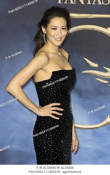 Claudia Kim attends Fantastic Beasts The Crimes of Grindelwald - UK Premiere. London, UK. 13/11/2018 | usage worldwide
