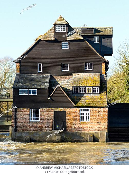 Houghton Mill is located on the Great Ouse in the village of Houghton, Cambridgeshire, England. UK