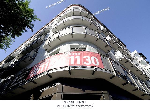 DEU, GERMANY : Empty offices to let in Mainz - Mainz, Rhineland-Palat, Germany, 09/10/2009