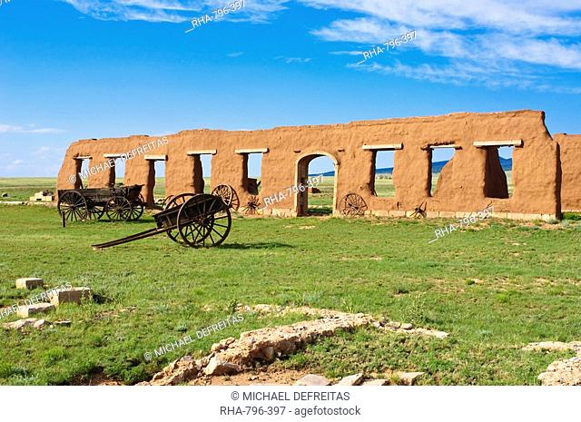Fort Union National Monument and Santa Fe National Historic Trail, New Mexico, United States of America, North America