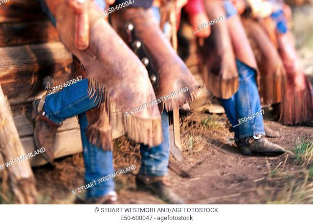 Cowboys. Eastern Oregon. USA