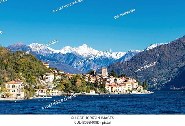 Village on Lake Como, Lombardia, Italy