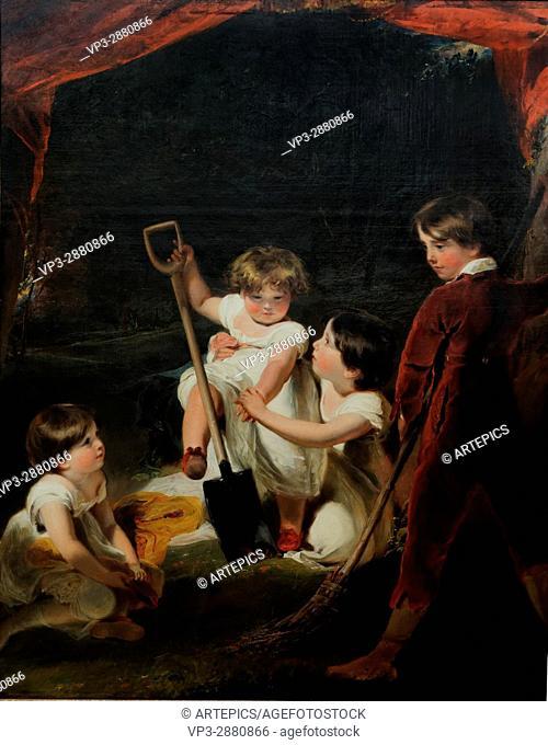 Sir Thomas Lawrence - Children - 1807 - XIX th Century - British School - Gemäldegalerie - Berlin
