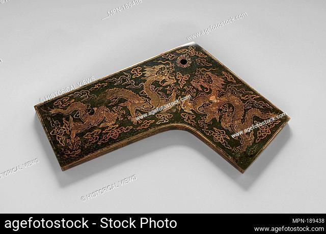林鐘/Chime (Qing) for Linzhong (8th note in the 12-note scale). Period: Qing dynasty (1644-1911), Kangxi period (1662-1722); Date: dated 1716; Culture: China;...
