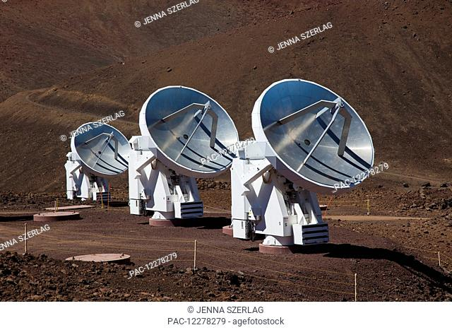 Mauna Kea Observatory; Island of Hawaii, Hawaii, United States of America