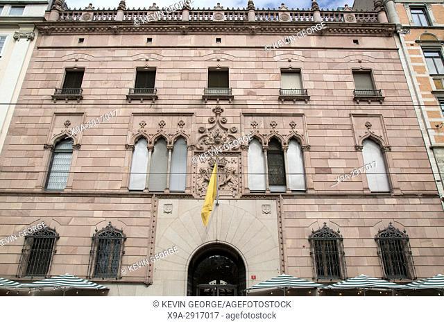 Hallwyl Museum Facade, Stockholm, Sweden