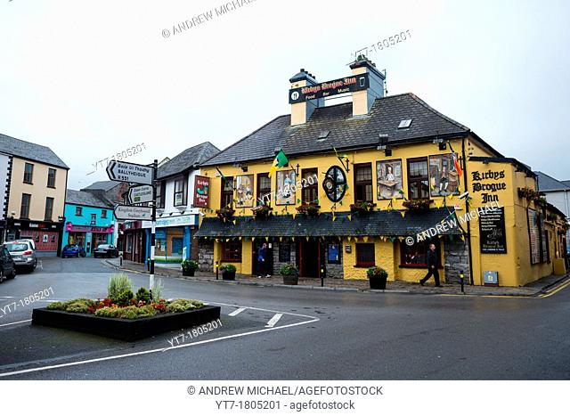 Irish pub in Tralee, County Kerry, Republic of Ireland