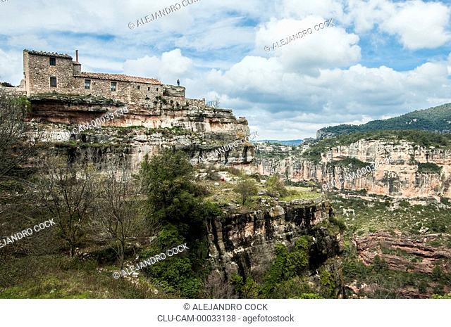 Traditional Housing, Tarragona, Barcelona, Catalonia, Spain, Europe