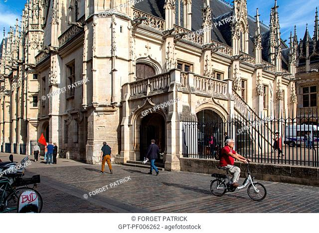 THE COURTHOUSE, FORMER PARLIAMENT OF NORMANDY, ROUEN (76), FRANCE