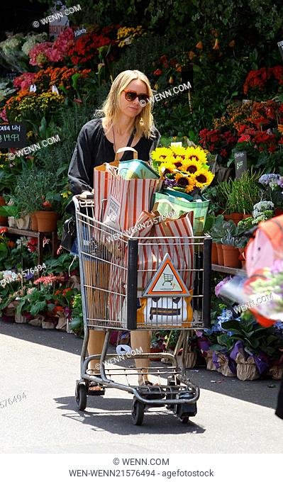 Naomi Watts spotted shopping at Whole Foods Market in Santa Monica Featuring: Naomi Watts Where: Santa Monica, California
