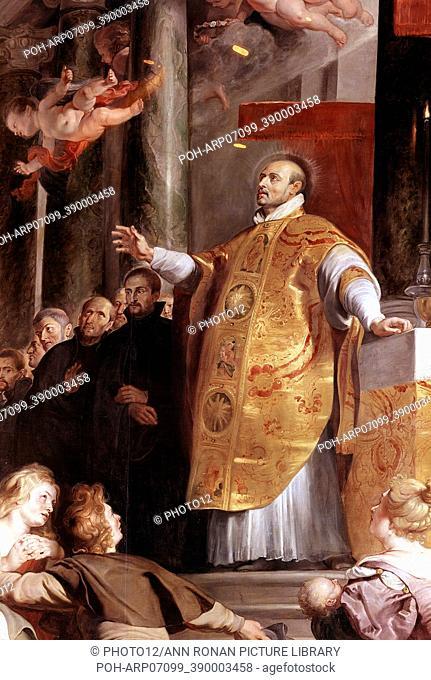 St Ignatius Loyola ( Inigo Lopez de Rocalde 1491-1556) Spanish soldier, founder of the Jesuits. Picture by Rubens. Kunsthistorisches Museum, Vienna
