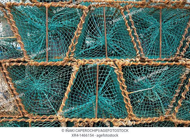 Fishing traps, Santoña, Cantabria, Spain