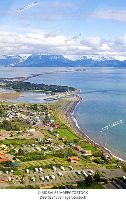 Alaska , Katmai , Homer , harbour