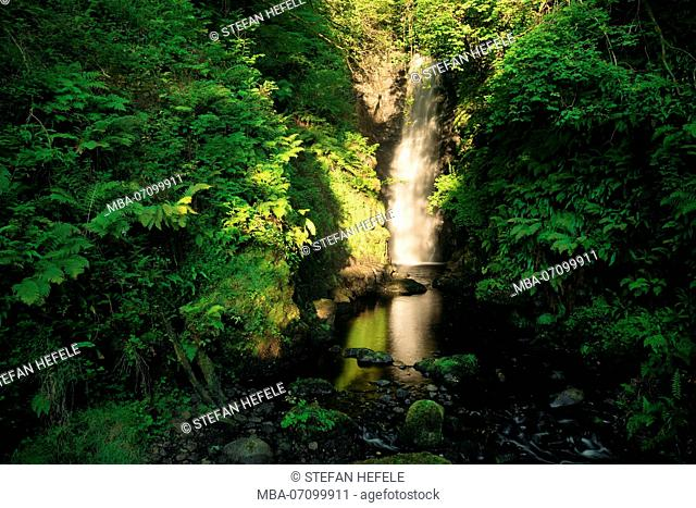 Cranny Falls, Antrim, Northern Ireland
