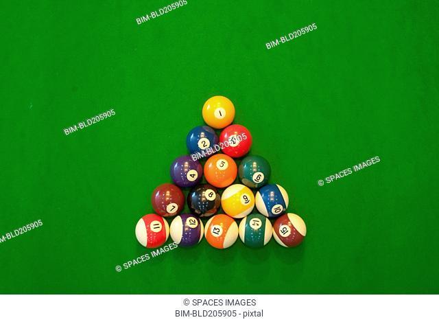 Billiard Game balls